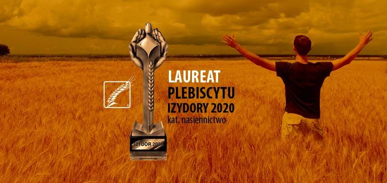 Wronkowski nasiona zwycięzcą ogólnopolskiego plebiscytu Izydory 2020